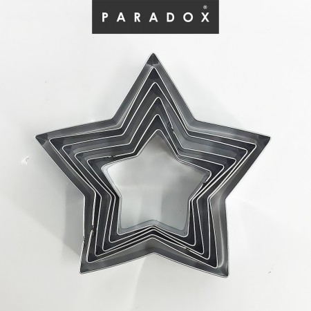 Cookie Cutter Star Set of 6