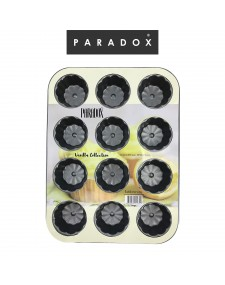12cup muffin pan 35×26.5×2.6cm.