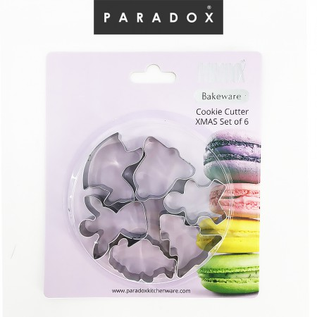 Cookie Cutter XMAS Set of 6